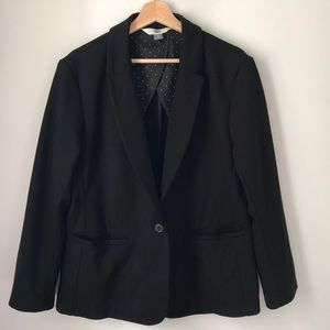 Old Navy Black Career Jacket Women's Size XL